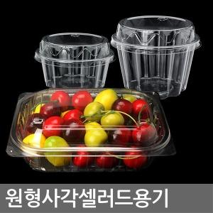 샐러드용기 203(50개)/투명/과일/포장/도시락/떡/빙수