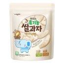 아기밀냠냠 유기농쌀과자 백미떡뻥 30gX3개