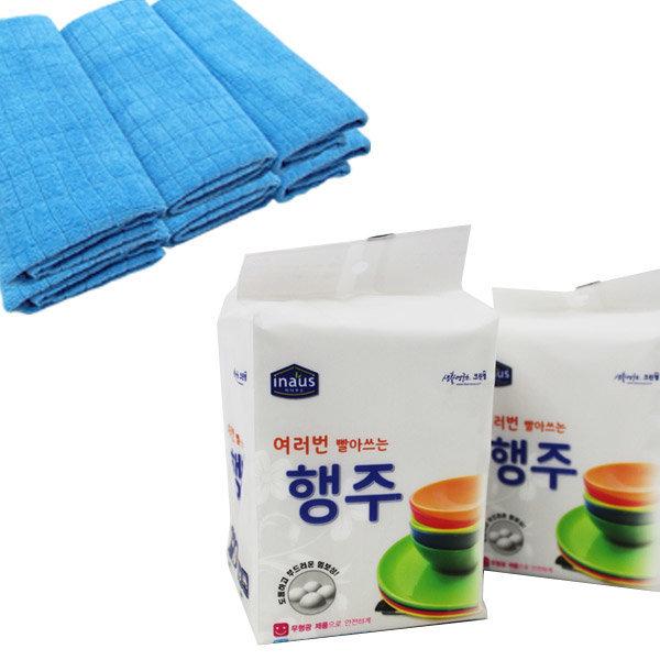 [유레카] 홈몬 극세사 요술걸레/수세미/행주/고무장갑 홈몬스터
