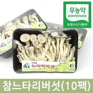 참느타리버섯 200gx10팩 1박스 친환경
