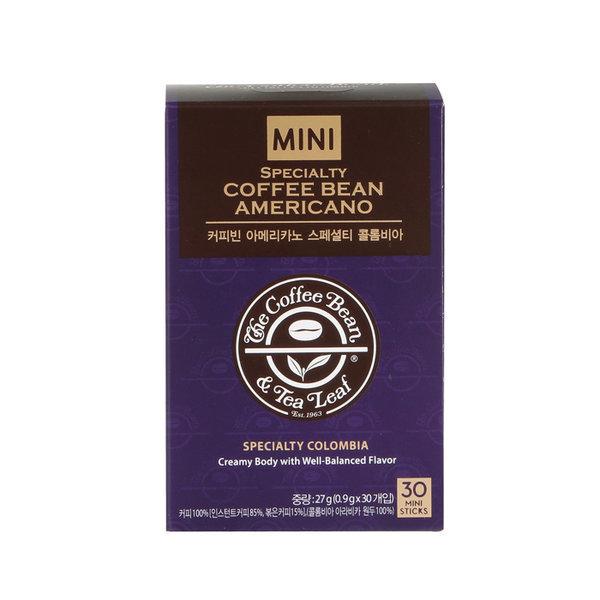 커피빈 아메리카노 콜롬비아 미니(0.9gX30T)