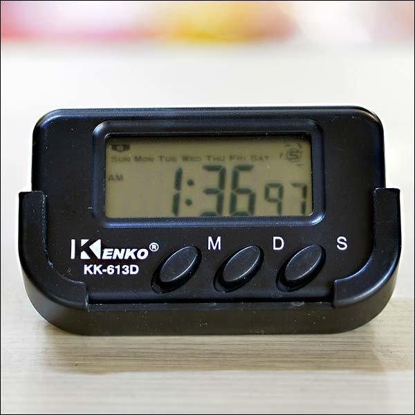 B016/디지털탁상시계/설명서포함/스톱워치(1/100초)
