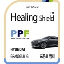 현대 그랜져 IG 프론트 범퍼 PPF 자동차 보호필름 2매