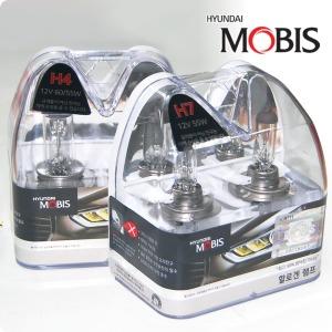 현대모비스 할로겐 제논화이트 램프 H1 H3 H4 H7