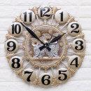 인테리어 벽시계 황실부엉이(특대)/무소음 벽걸이시계