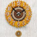 인테리어 벽시계 해바라기(대)/무소음시계 집들이선물