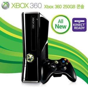 XB360S 250GB 신형 콘솔(XBOX360/중고) 정식발매판