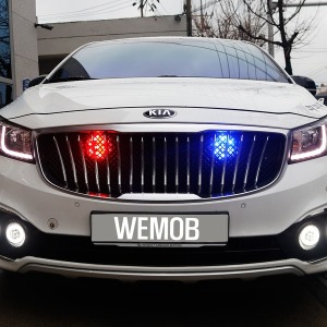 오리지널 10기능 LED경광등/LED싸이키/경고등/점멸등