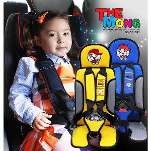 W2 KC안전인증 몽구 영유아카시트/어린이집/통학차량