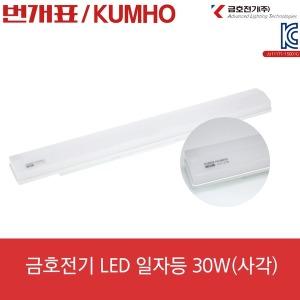 금호 LED사각일자등30W LED조명 LED방등 LED전구