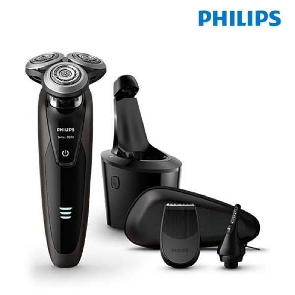 (현대Hmall)필립스 9000시리즈 면도기 S-9071 S9071/37    8방향 무빙 시스템 / 건습식겸용 / 스마트 클린