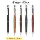 파이롯트 S20 원목 샤프펜슬 0.3/5mm(HPS-2SK) 케이스증정-블랙/브라운/마호가니 입고