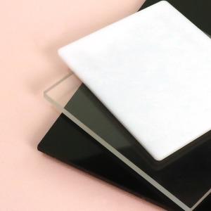 아크릴 재단 2T (두께 2mm) 투명 검정 백색 반투명