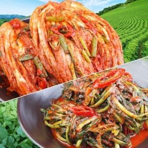 가정식 생포기김치5Kg+열무김치2Kg / 빅스마일 특가