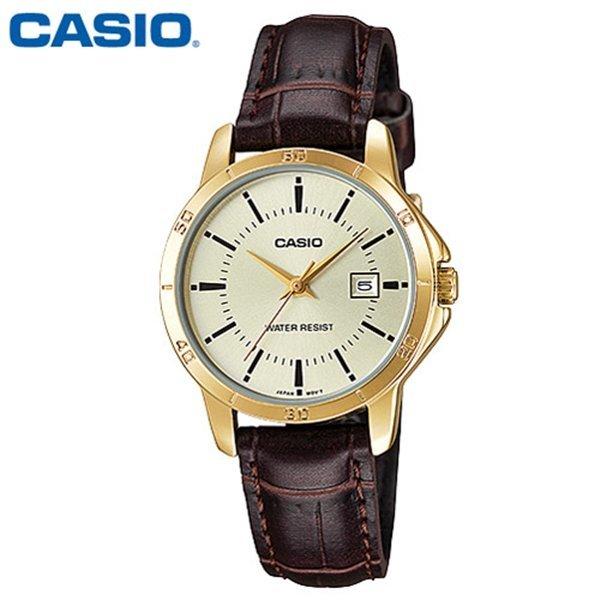 카시오 / 여성용 패션시계 / LTP-V004GL-9A