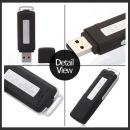 USB녹음기 메모리교체형 32GB 호환 15시간 AT-V1004