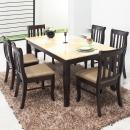 데미안 대리석 6인식탁세트/대리석식탁/식탁의자