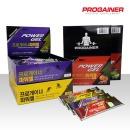 프로게이너 파워젤 4가지 맛 / 에너지젤