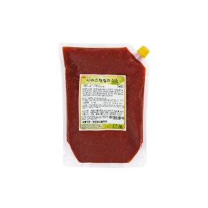 천일유통 시아스 핫칠리소스2kg/칠리소스/살사소스