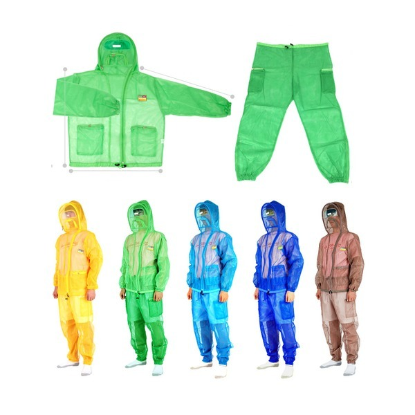 방충복세트 양봉상하의 해충 벌 방충 모기장옷 방제복