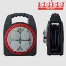 세이즈 X2M IP 10M 레드 미니 방수 전기 릴선 1.5SQ