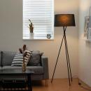 트리니티 장스탠드 (블랙) + LED램프 전구색