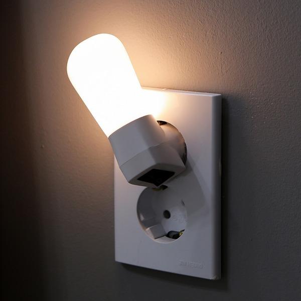 LED 에그 취침등(전구색)