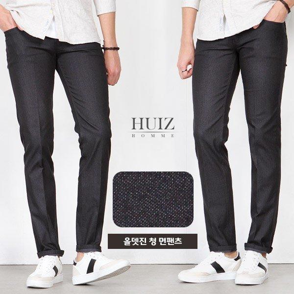 HU 올뎃진 청 면팬츠 HUIZ_SL355