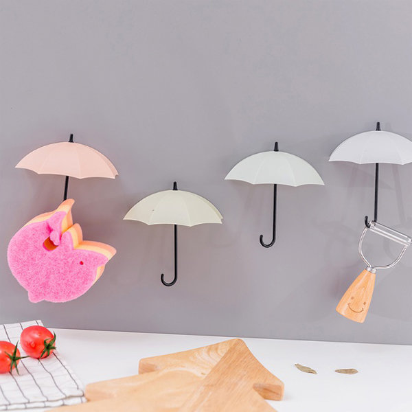 인테리어 소품 우산모양 벽걸이 3개세트 다용도