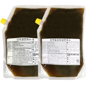 단박 냉면육수2kg / 사골맛 / 동치미맛 (전문업소용)