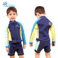 아쿠아룩 네오플랜 아동 수영복 슈트 KRGT-012