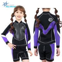 아쿠아룩 네오플랜 아동 수영복 슈트 KNT-063