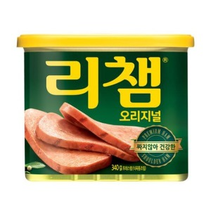 리챔 340g/스팸 런천미트 햄 로스팜 소세지 통조림 - 상품 이미지