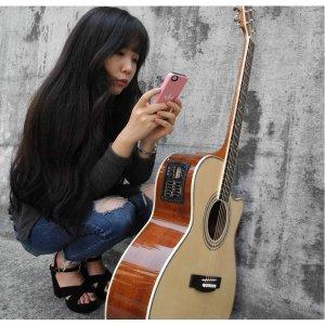 손이 아프지않은 특수기타 키니 통기타 기타 어쿠스틱