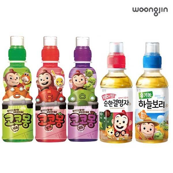 [웅진] 코코몽 어린이음료 200ml X 24페트 유기농하늘보리
