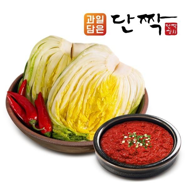 과일담은 단짝김치_김장세트(국산절임2kg+양념1kg) 외