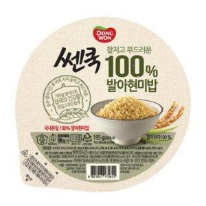 무료배송 쎈쿡 100프로 FS발아현미밥 195gx18개 즉석