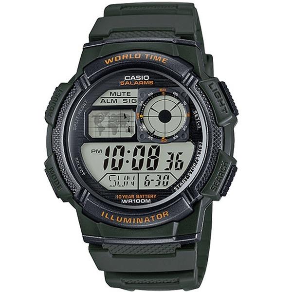 카시오정품 AE-1000W-3A 스포츠전자손목시계 남성여성