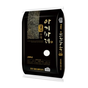경기미 추청 아끼바레 20kg 17년산 박스포장