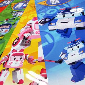 실사출력 랩핑지 투명필름 포스터 사진인화 버스 간판