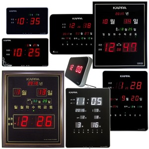 디지털시계 개업선물 디지털벽시계 전자벽시계 LED