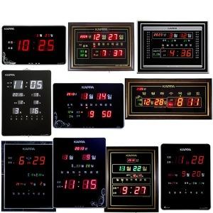 전자벽시계 디지털벽시계 LED벽시계 벽걸이시계 선물