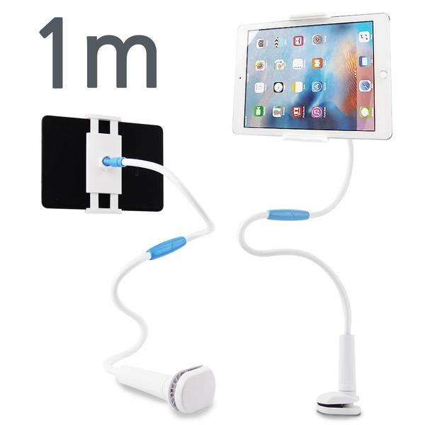 아이패드거치대 갤럭시탭 자바라 침대 태블릿 1m