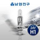 전조등 H1 24V 70W 순정형 자동차전구
