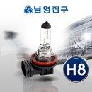 전조등 H8 12V 35W 순정형 자동차전구