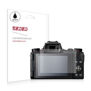 스코코 캐논 파워샷 G1XMark3 올레포빅 카메라필름2매