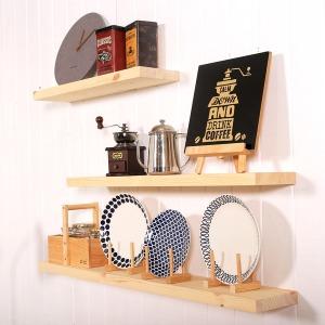 원목 무지주 벽선반 벽걸이 선반 인테리어 DIY 장식