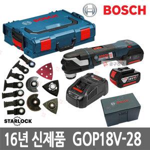 공구친구 보쉬 GOP18V-28 만능커터 충전컷터 5.0Ah 배터리2개 3D체결방식