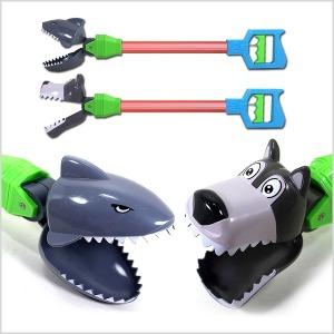 동물 로봇팔 상어 강아지 장난감 손 집게