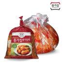 종가집 포기김치 5kg (소백) + 총각 1kg / 배추김치
